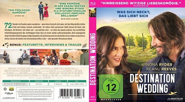Destination Wedding Cover Deutsch German german blu ray cover
