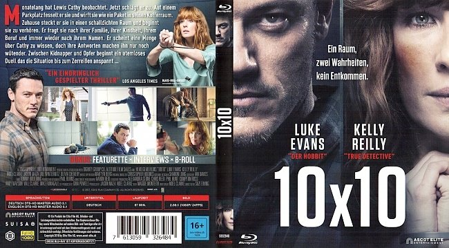 10x10 Cover Deutsch German german blu ray cover