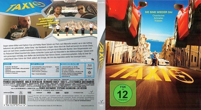 Taxi_5_Cover_Deutsch_German german blu ray cover