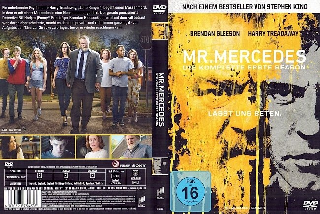 Mr Mercedes Staffel 1 Deutsch Cover German german dvd cover