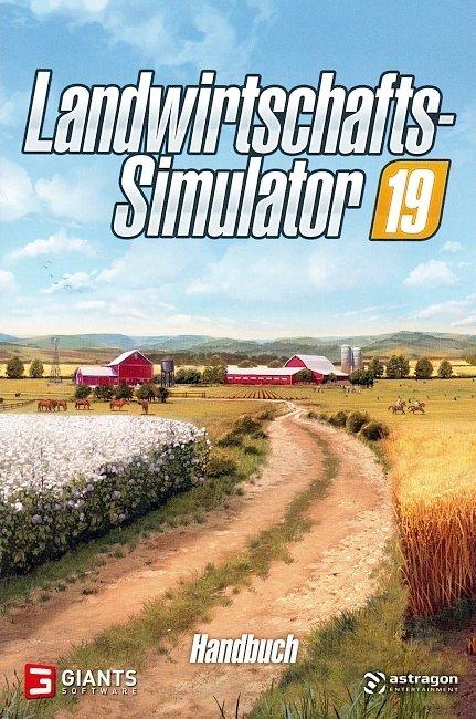 Landwirtschafts Simulator 19 Handbuch pc cover german