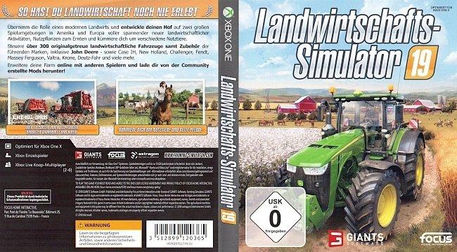 Landwirtschafts Simulator 19 Xbox One Cover deutsch german german xbox one cover