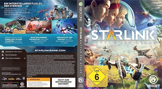 Starlink Battle for Atlas Xbox One Cover Game german xbox one cover