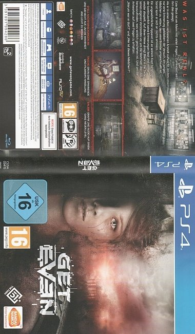 Get Even Cover PS4 german ps4 cover