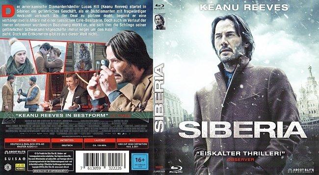 Siberia Keanu Reeves Cover Deutsch German german blu ray cover