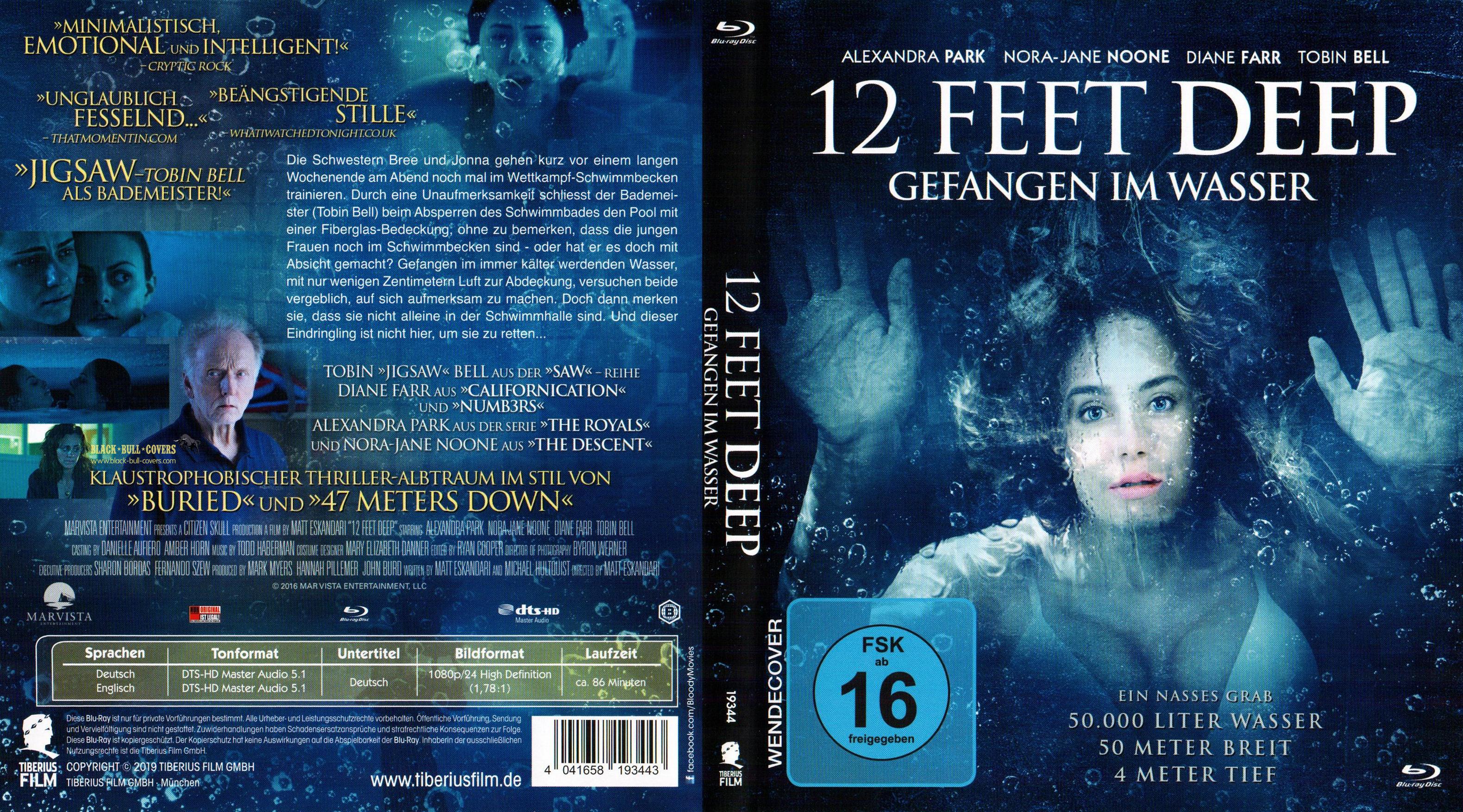 12 feet deep deutsch
