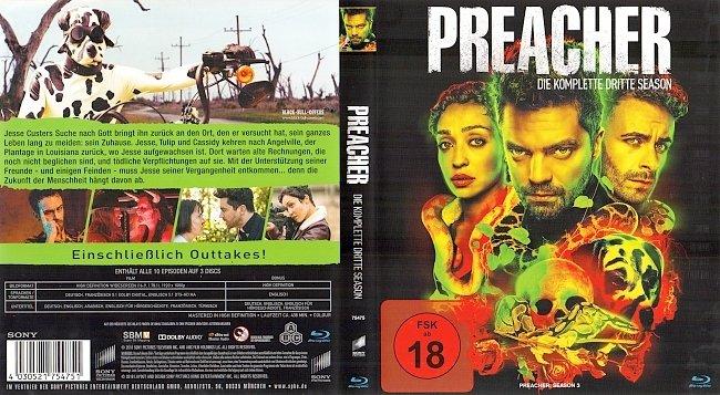 Preacher Staffel 3 Season 3 Cover Bluray deutsch german german blu ray cover