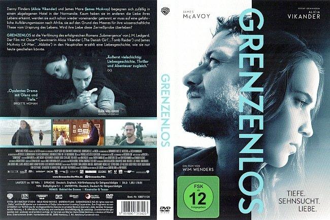 Grenzenlos DVD Cover Deutsch German german dvd cover
