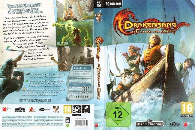 Drakensang Am Fluss der Zeit Cover Deutsch German pc cover german