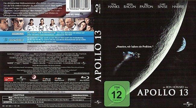 Apollo 13 Blu ray Cover German Deutsch german blu ray cover