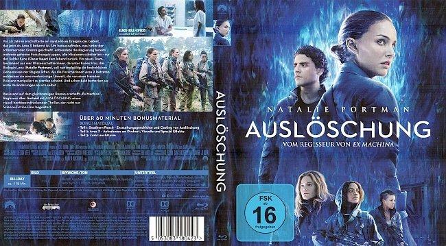 Ausloeschung Annihilation Cover Blu ray Deutsch German german blu ray cover
