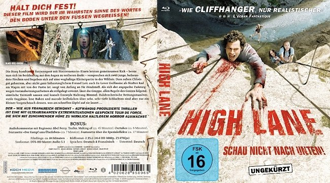 High Lane Cover Blu ray German Deutsch Schau nicht nach unten german blu ray cover