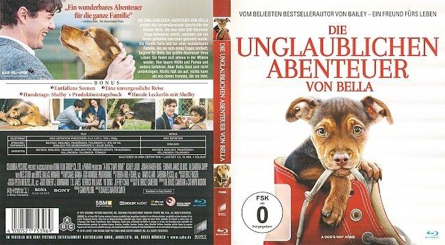 Die unglaublichen Abenteuer von Bella Cover Deutsch German Blu ray german blu ray cover