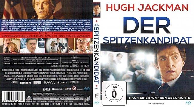 Der Spitzenkandidat German Deutsch blu ray cover german
