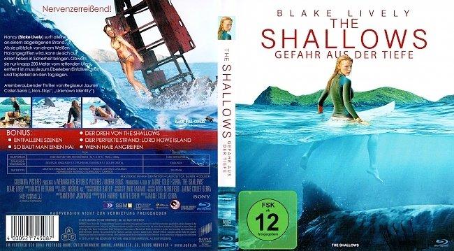 The Shallows Gefahr aus der Tiefe Cover Blu ray Deutsch German german blu ray cover