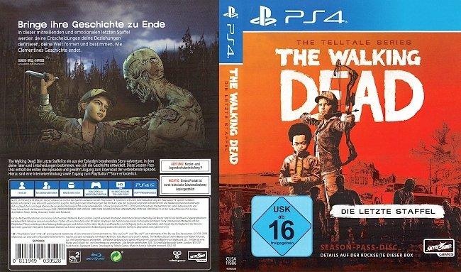 The Walking Dead The Final Season Die letzte Staffel PS4 Spiel Cover GameMoviePortal german ps4 cover