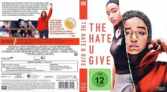 The Hate U Give Blu ray Cover German Deutsch german blu ray cover