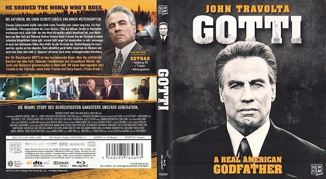 Gotti Cover Blu ray ohne FSK Deutsch german blu ray cover