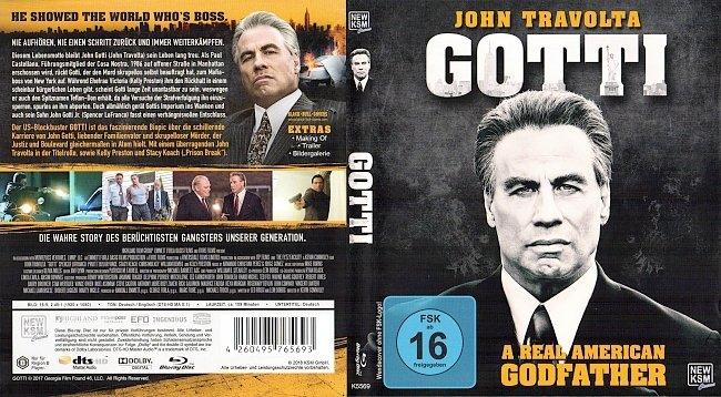Gotti John Travolta Cover Blu ray Deutsch German german blu ray cover