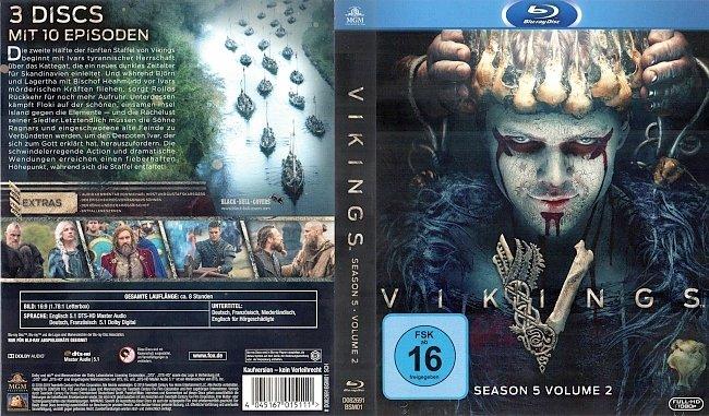 Vikings Staffel 5 Volume 2 Blu ray Cover German Deutsch german blu ray cover