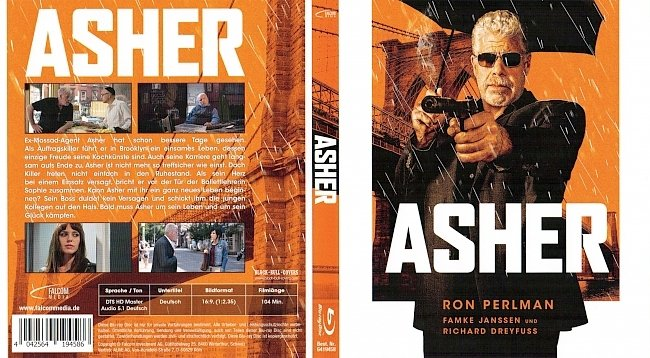 Asher ohne FSK Cover Blu ray Deutsch German german blu ray cover
