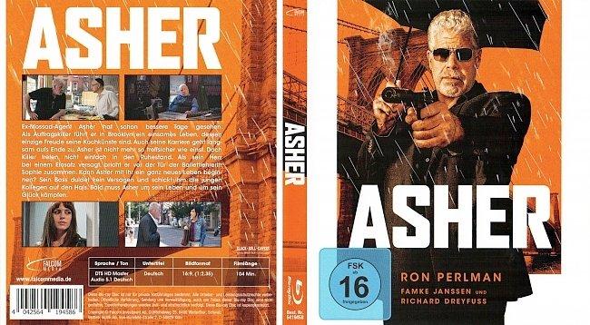 Asher mit FSK Cover Blu ray Deutsch German german blu ray cover