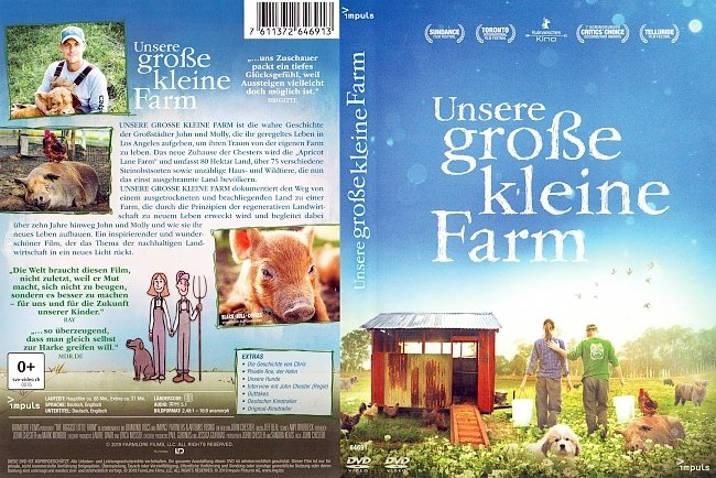 Unsere grosse kleine Farm DVD Cover Deutsch German german dvd cover