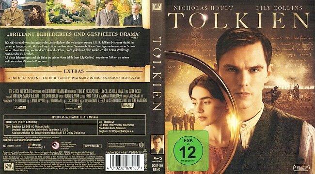 Tolkien Blu ray Cover Deutsch German german blu ray cover