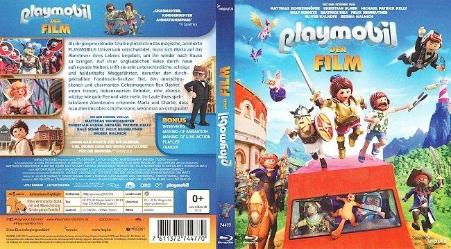 Playmobil Der Film Bluray Cover German Deutsch german blu ray cover