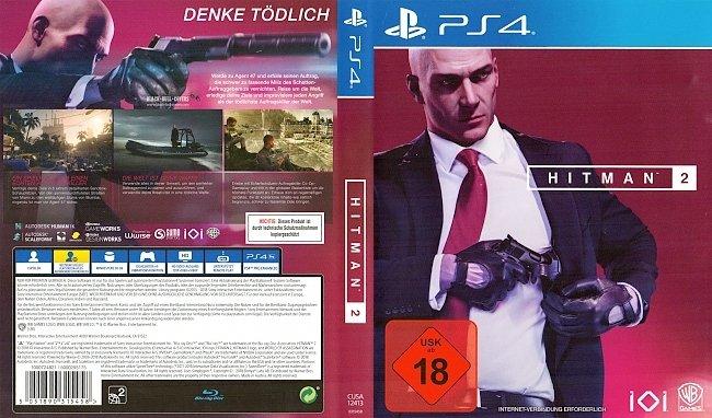 Hitman 2 PS4 Deutsch Cover German german ps4 cover