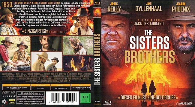 The Sisters Brothers Cover Deutsch German Bluray german blu ray cover