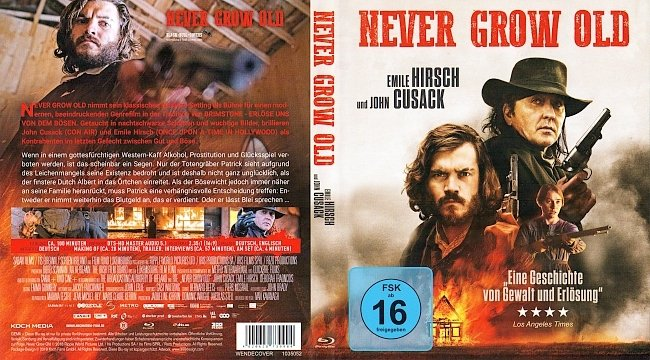 Never Grow Old Cover Deutsch german blu ray cover