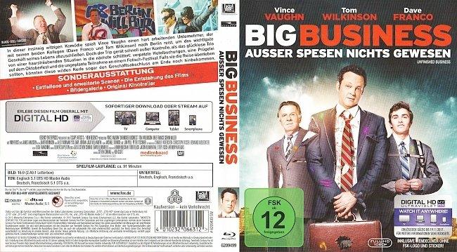 Big Business Ausser Spesen Nichts Gewesen Cover Deutsch German german blu ray cover