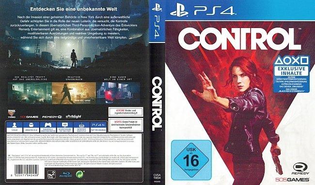 Control PS4 Cover German Deutsch german ps4 cover
