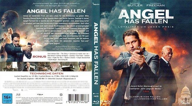 Angel Has Fallen Cover Deutsch German Blu ray german blu ray cover
