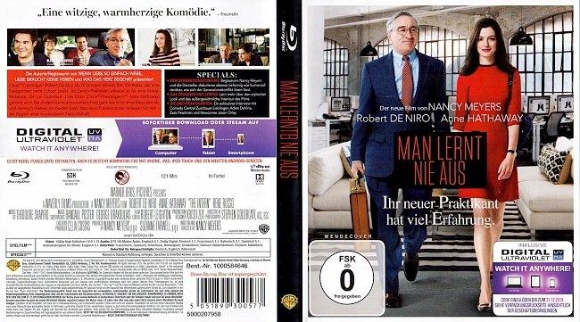 Man lernt nie aus Cover Blu ray Deutsch German german blu ray cover