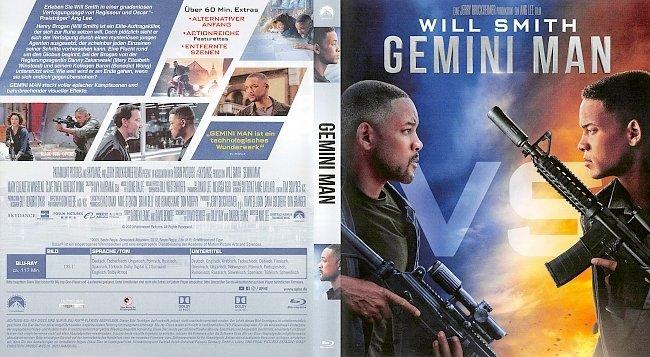 Gemini Man Blu ray Cover German Deutsch german blu ray cover