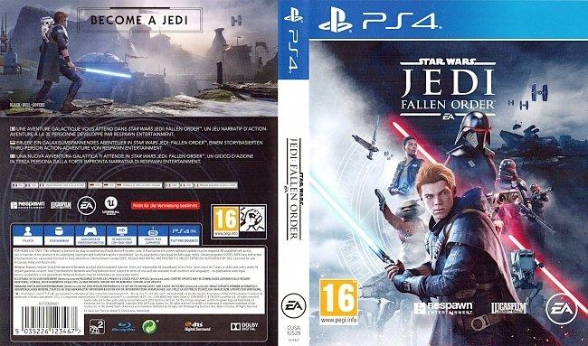 Star Wars Jedi Fallen Order PS4 Deutsch German Cover german ps4 cover