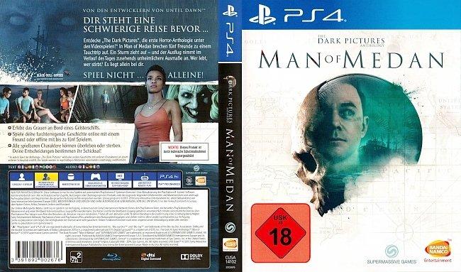 The Dark Pictures Man of Medan Cover PS4 Deutsch German german ps4 cover