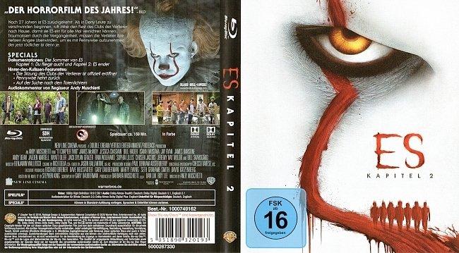 Stephen King ES Kapitel 2 Chapiter 2 It Blu ray Cover German Deutsch german blu ray cover