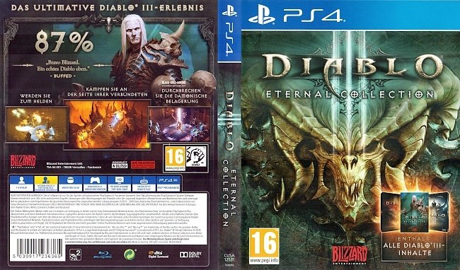 Dialbo 3 Eternal Collection PS4 Cover Deutsch German german ps4 cover
