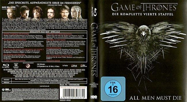 Game of Thrones Staffel 4 S04 Blu ray Cover Deutsch German german blu ray cover