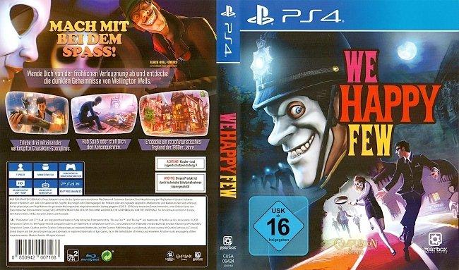 We Happy Few Cover PS4 Deutsch German german ps4 cover