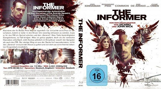 The Informer Blu ray Cover Deutsch German german blu ray cover