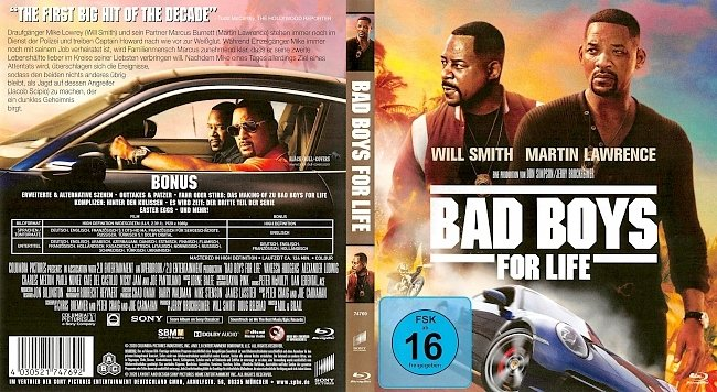 Bad Boys for Life Cover German Deutsch german blu ray cover