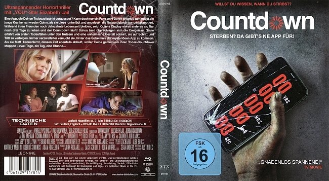 Countdown Cover German Deutsch Bluray german blu ray cover