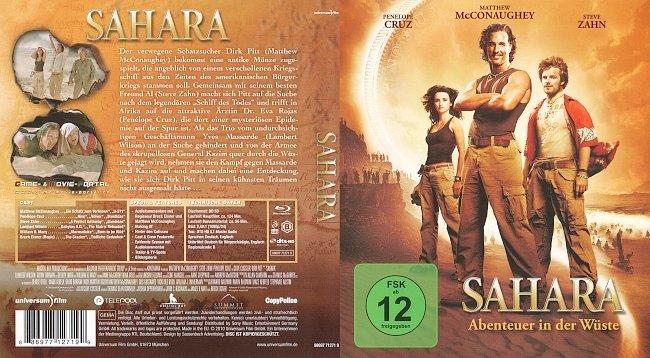 Sahara Abenteuer in der Wueste FSK 12 german blu ray cover