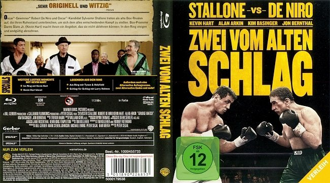 Zwei vom alten Schlag Cover Bluray Deutsch German german blu ray cover