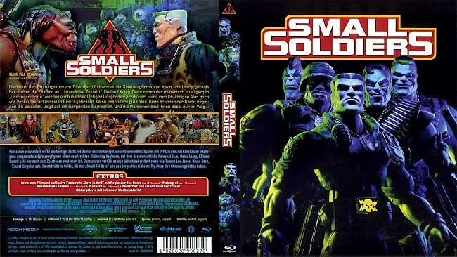 Small Soldiers Blu ray Cover German Deutsch german blu ray cover