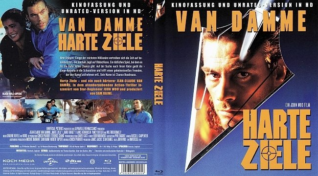 Harte Ziele Cover Bluray Deutsch German german blu ray cover